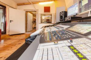 Tonstudio Regieraum